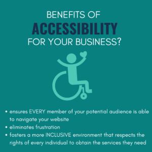 Benefits of Accessibility webtools