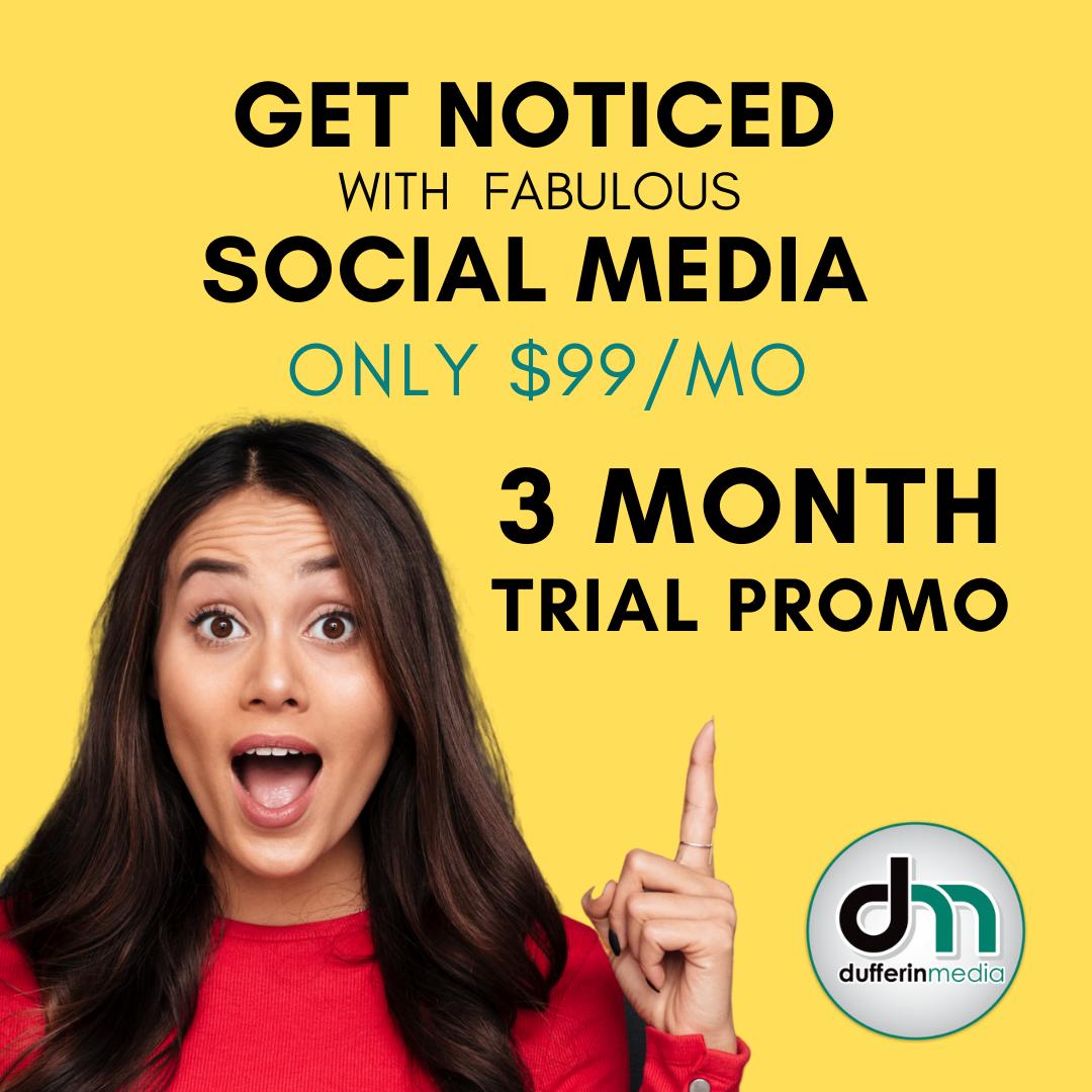 3 month social media package