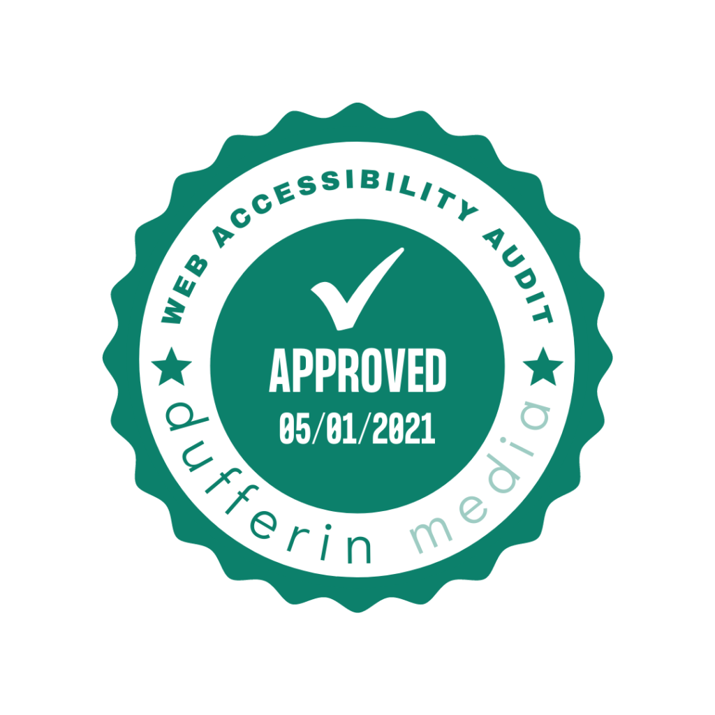 Web Accessibility Audit Seal
