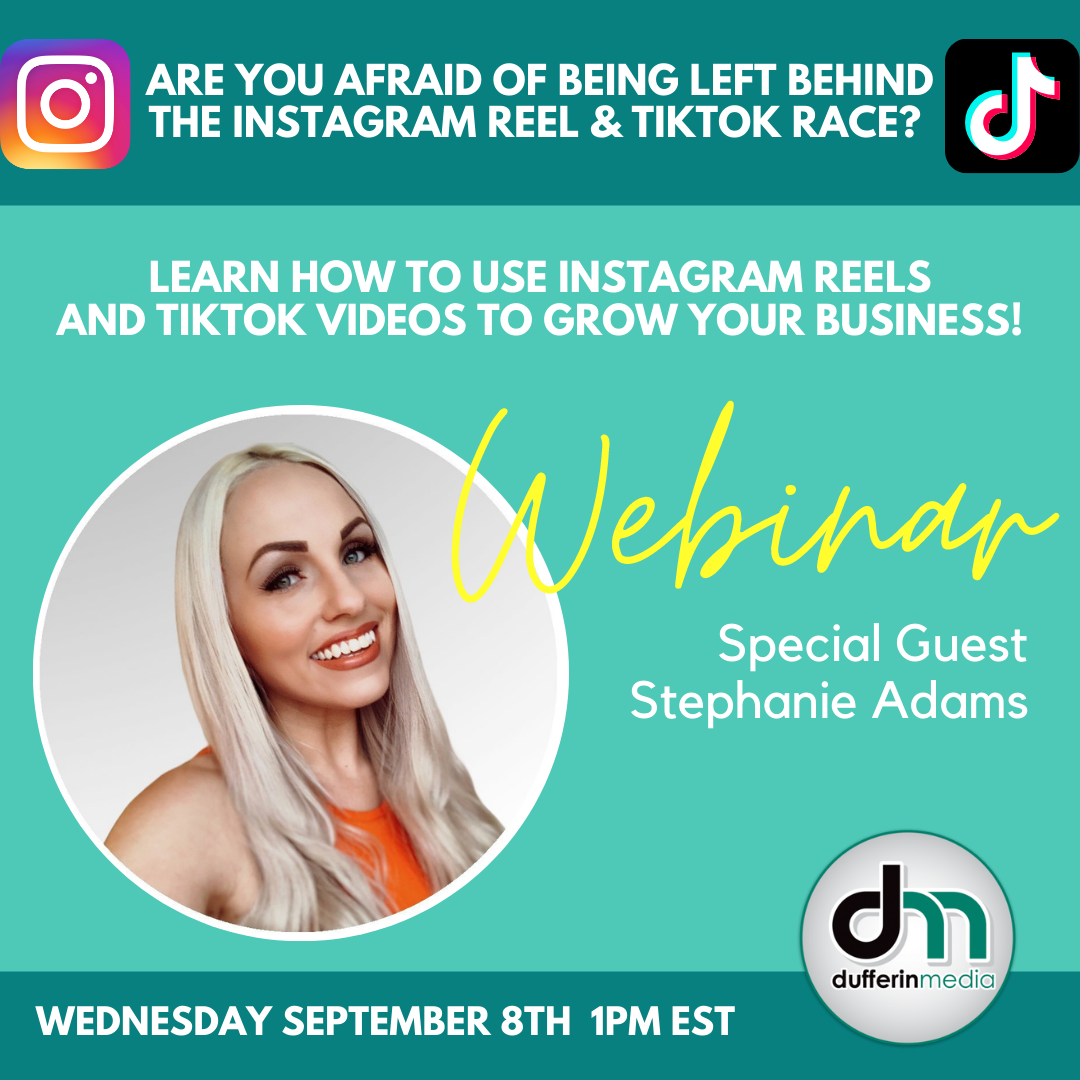 how to use instagram reels to grow your business webinar